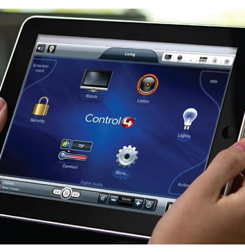 Smart Home Automation: Control Your Home From a Tablet in Massachusetts.